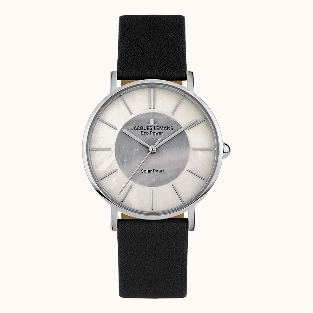Goldschmiede Stößel | Gold- und Silberschmiede Uhren und Schmuck | Gerolzhofen – Jacques Lemans Eco Power Solar Pearl Armbanduhr