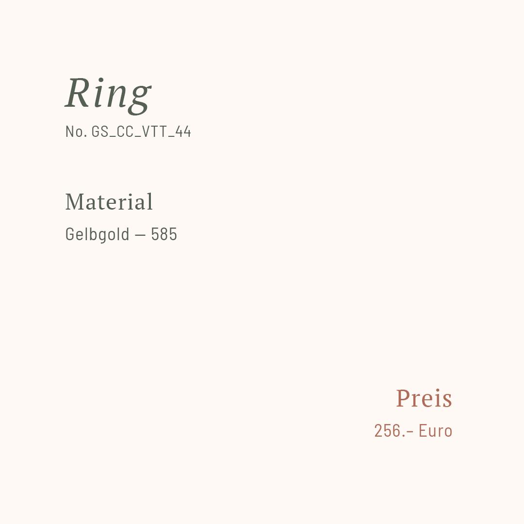 Goldschmiede Stößel | Gold- und Silberschmiede Uhren und Schmuck | Gerolzhofen – Ring (gedreht)